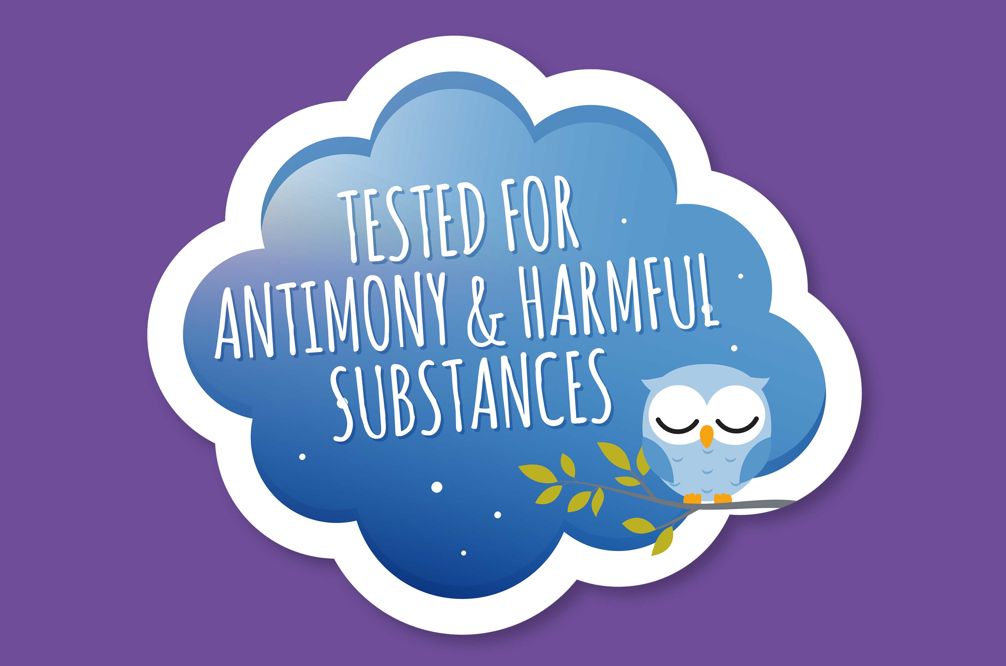 Antimony and pollutant tested mattress covers at Träumeland baby mattresses.