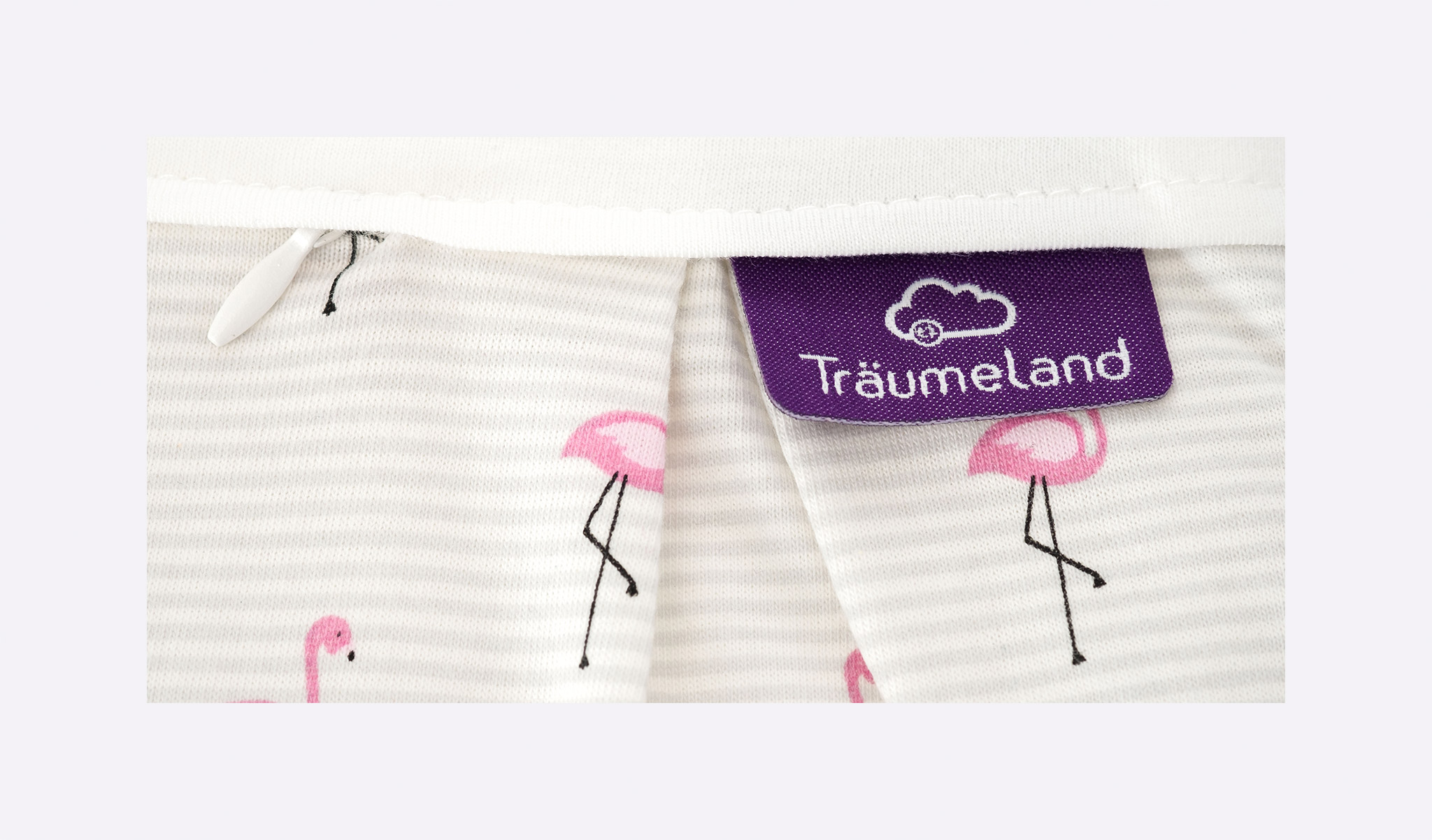 S0102552 - sleeping bag set flamingo