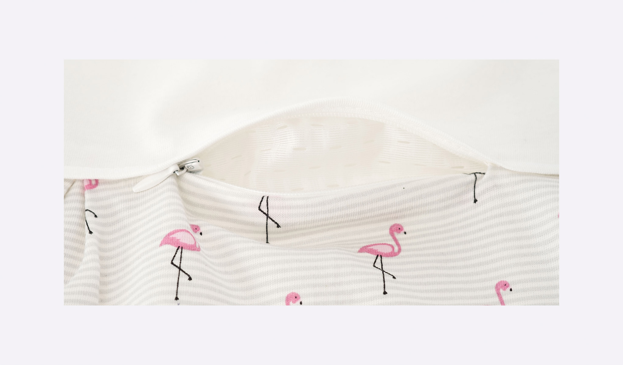 S0102553 - Schlafsack - Set Flamingo