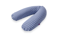 T040832 - nursing cushion blue with white stars