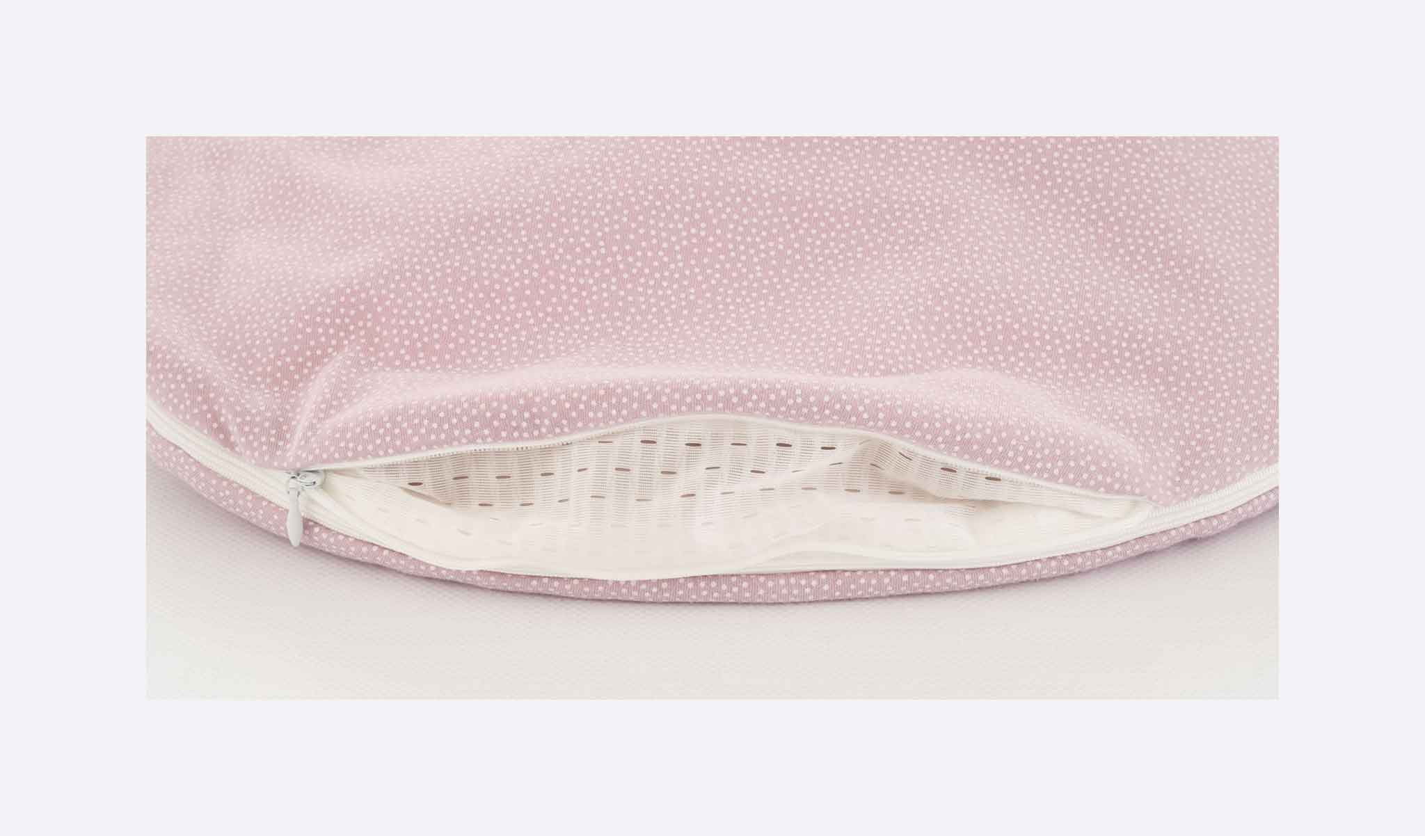 S0103055 - sleeping bag set Dots rose