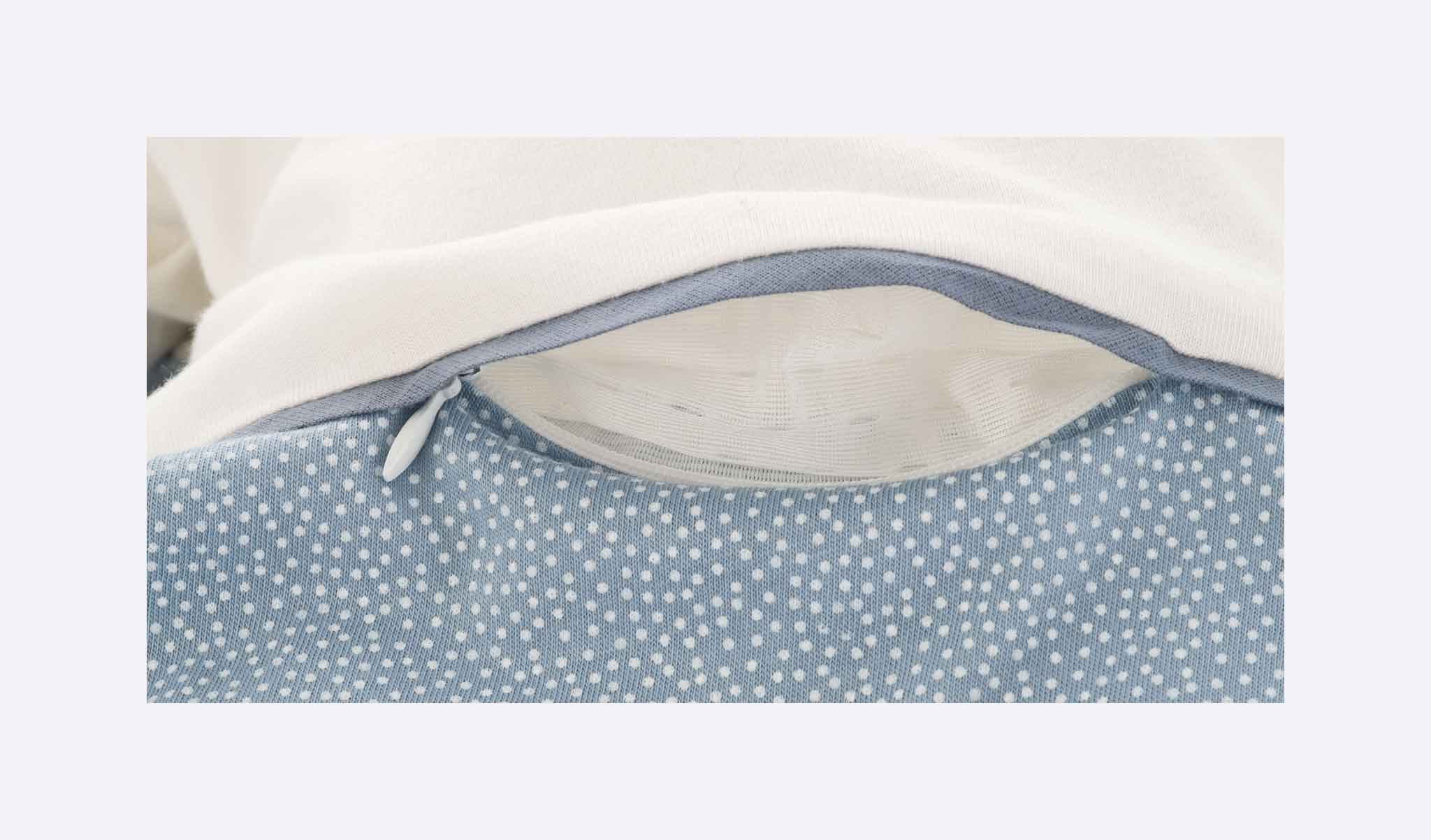 S0103107 - sleeping bag dots blue