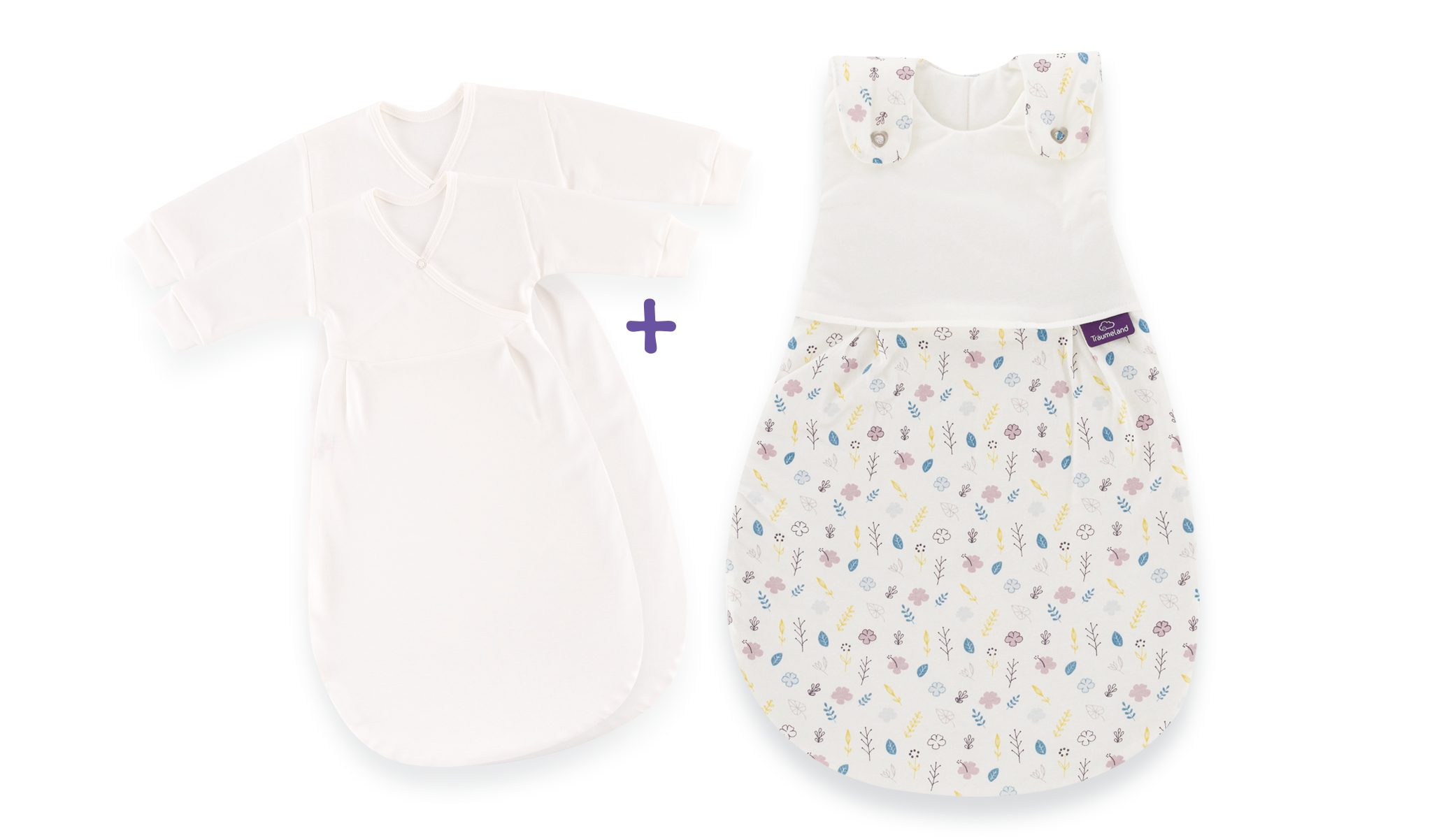 S0103252 - sleeping bag set floral