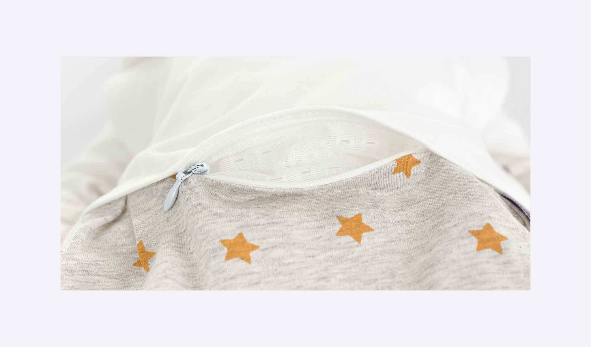 S0103505 - sleeping bag dream of stars yellow