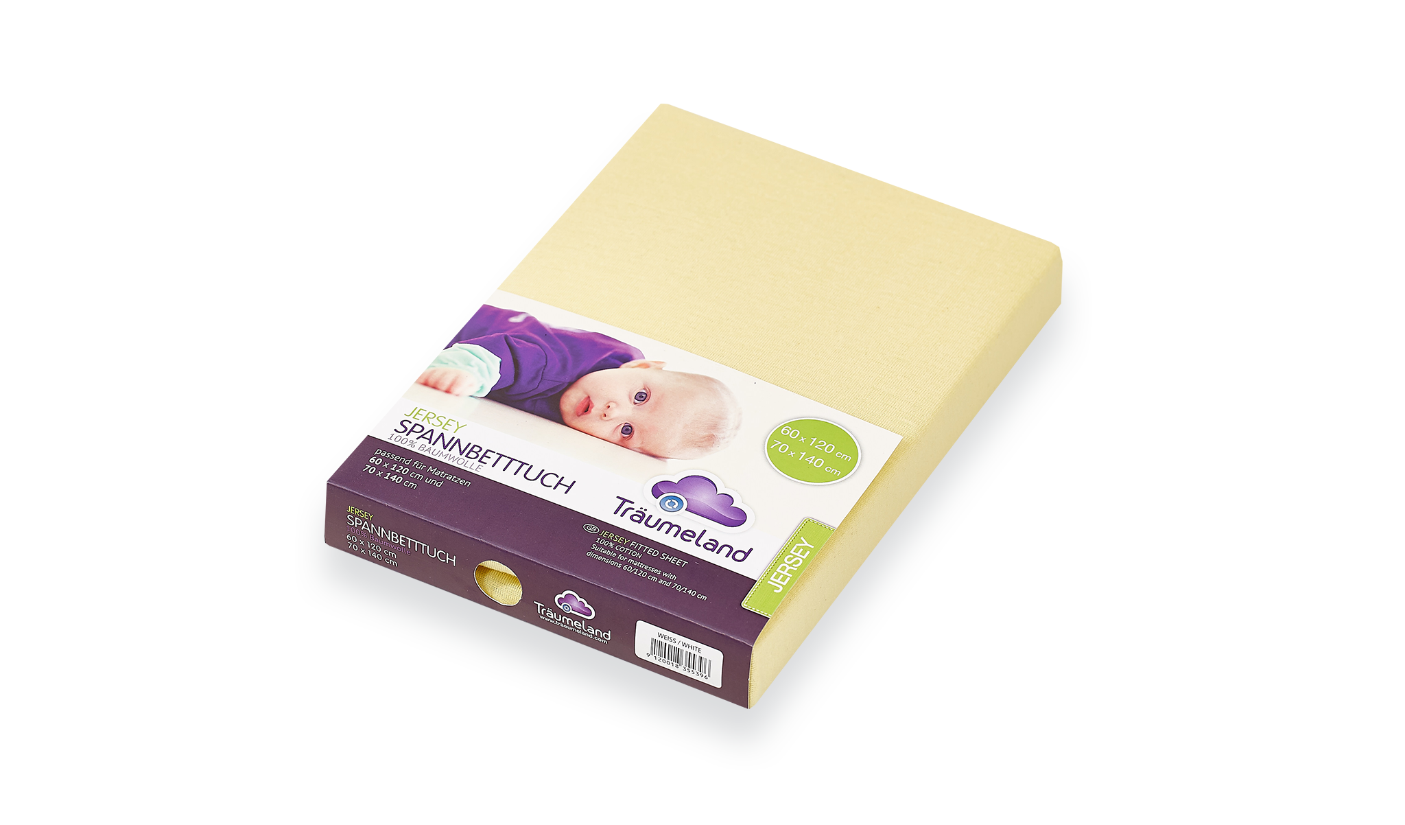 TT02023 - fitted sheets jersey yellow