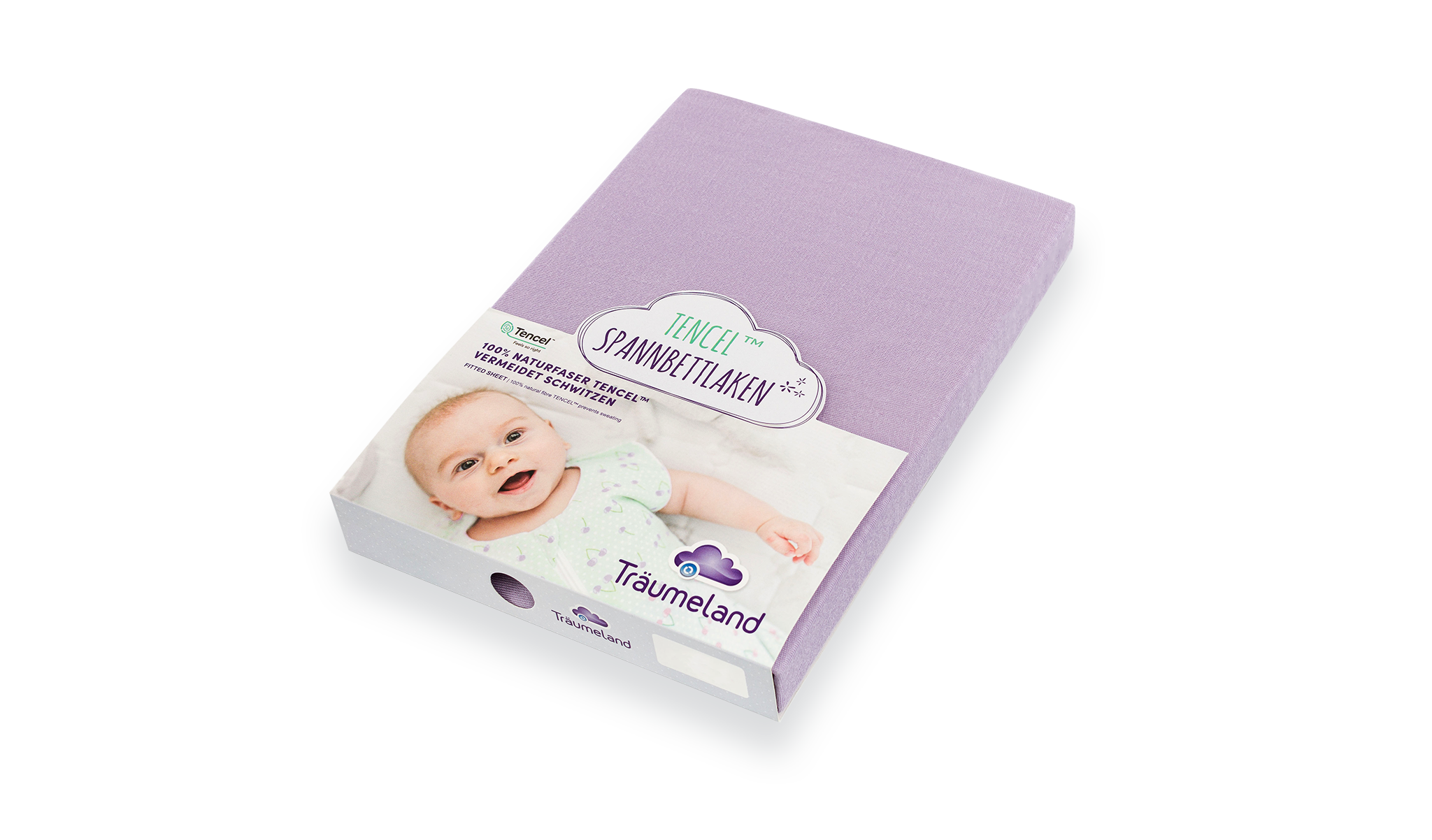 TT04071 - fitted sheets tencel lilac