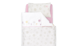 TT14502 - bedcover Flowers lilac