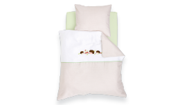 TT16203 - bedcover hedgehog family