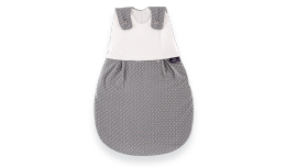 S0100102 - Little dots sleeping bag in grey