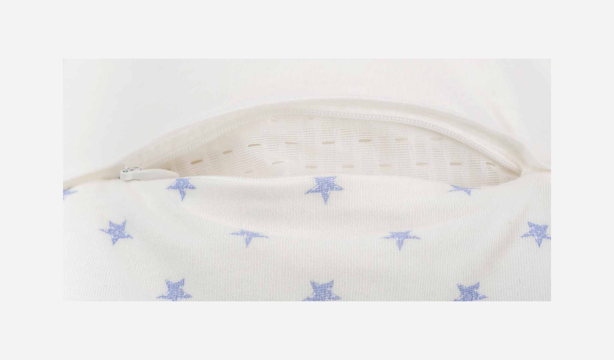 S0101303 - Stars sleeping bag in blue