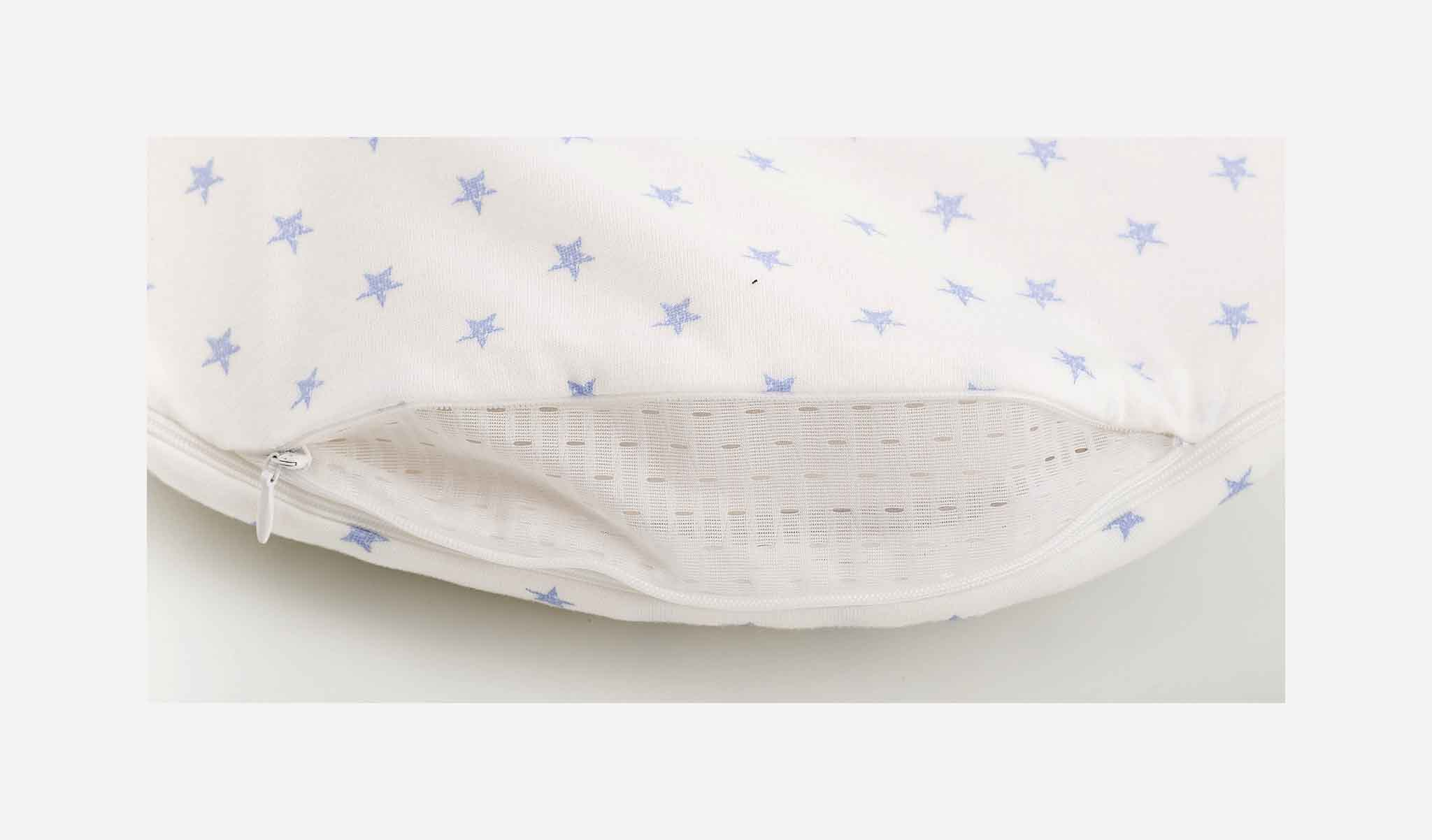 S0101353 - Stars sleeping bag set in blue