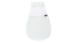 S0100703 - Scales sleeping bag in white