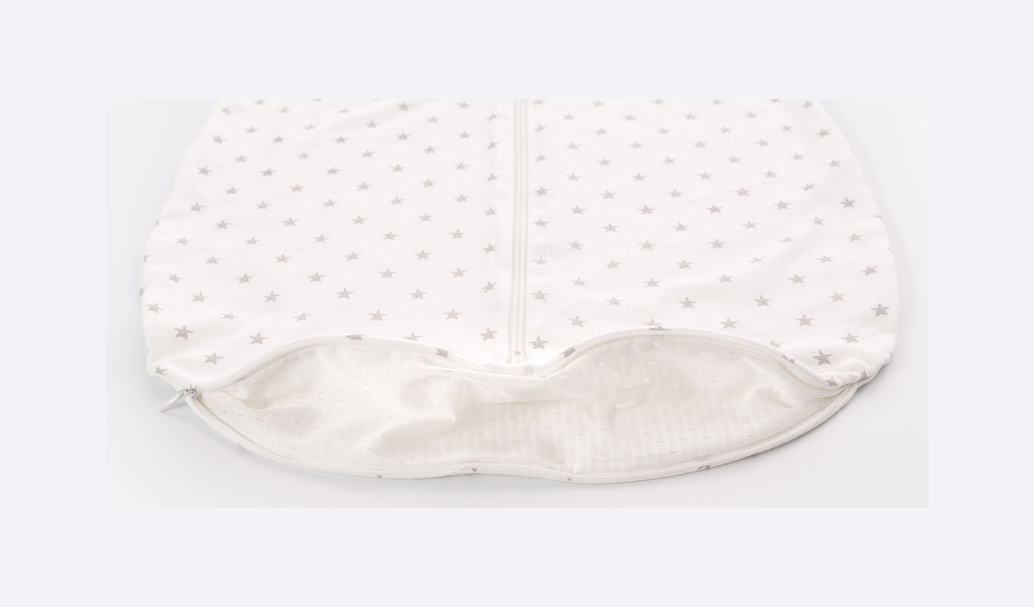 S0200105 - Summer sleeping bag Stars grey